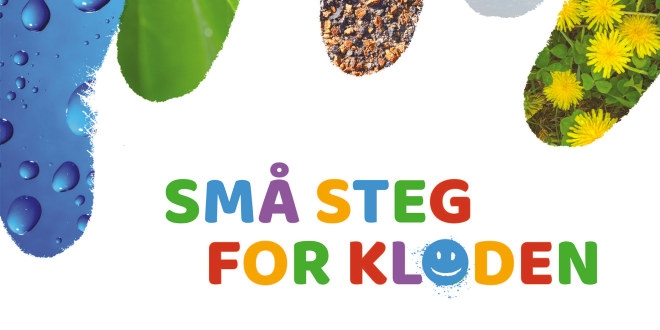 Logo - små steg for kloden